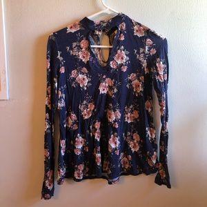 Super comfy and soft floral shirt